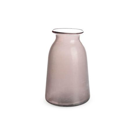 Vase groß, Glas, rosé