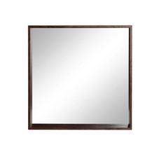 Wandspiegel, Holz, Nussbaum
