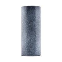 2x Vase, gesprenkelt