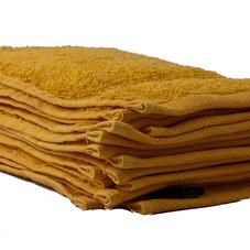 Handtücher, 4er-Set, gelb