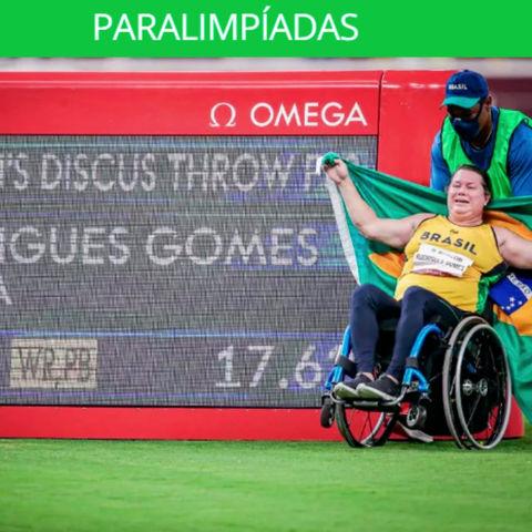 Beth Gomes conquista o ouro nas Paralimpíadas