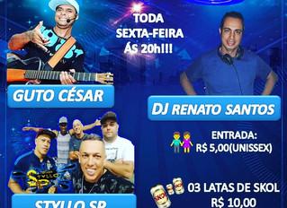 Projeto Samba do DJ, agita o Clube todas as sextas feiras