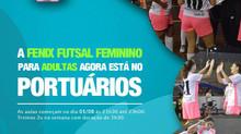 A Fênix Futsal Feminino agora está no Portuários