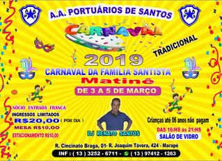 Carnaval da Família Santista!