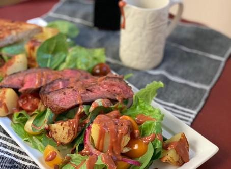 Berbere Steak Salad