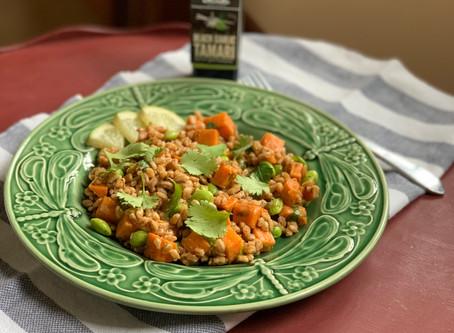 Asian Farro Salad