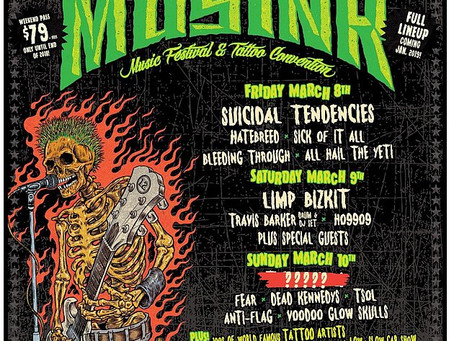 DEAD KENNEDYS & BLEEDING THROUGH - Added to MUSINK FESTIVAL