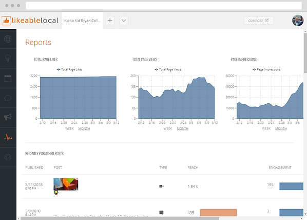 Facebook Reports and Analytics