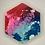 """Thumbnail: Pre-Made Pride 1.5"""" Hexagon"""