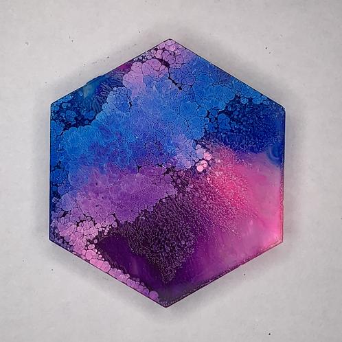 """Pre-Made 1.5"""" Hexagon 4"""