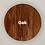 "Thumbnail: Round Wood Tag 1.5"" - Create Your Own"