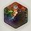 """Thumbnail: Pre-Made Pride 1"""" Hexagon"""