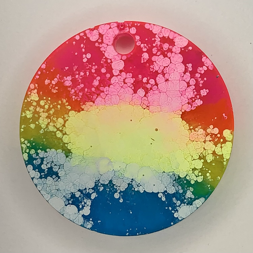 "Pre-Made Pride 1.5"" Circle"