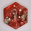 """Thumbnail: Pre-Made 1.5"""" Hexagon - Gold"""