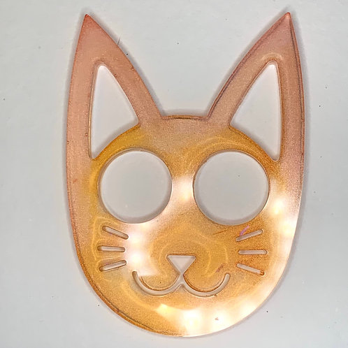 Pre-Made Self Defence Kitty Keychain 2