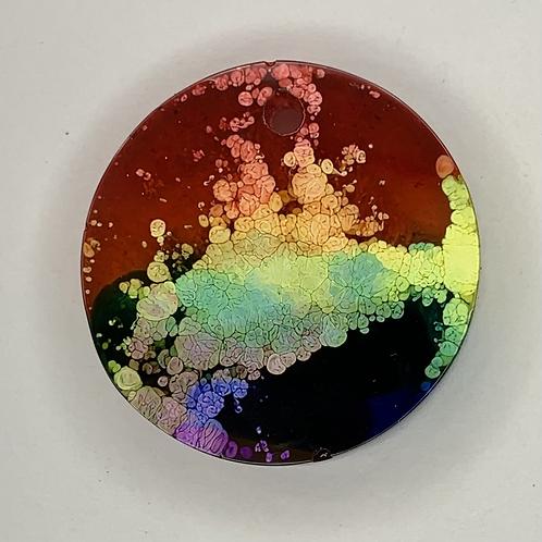 "Pre-Made Pride 1"" Circle"