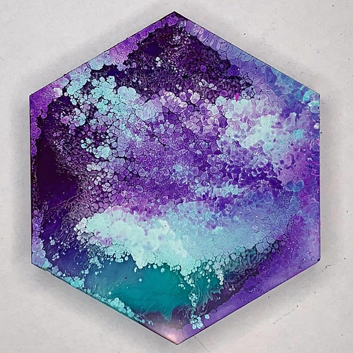 INKY Series Hexagon Tag - Create Your Own