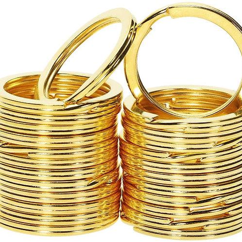 Gold Tag Ring - Heavy Duty