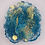 """Thumbnail: Pre-Made 1.5"""" Geode Tag - Gold"""