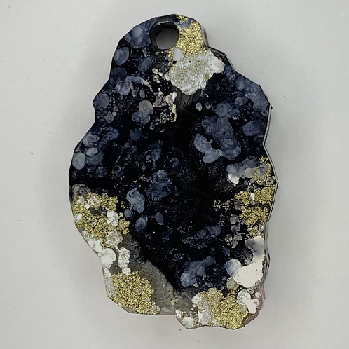 """Pre-Made 1"""" Geode - Gold"""