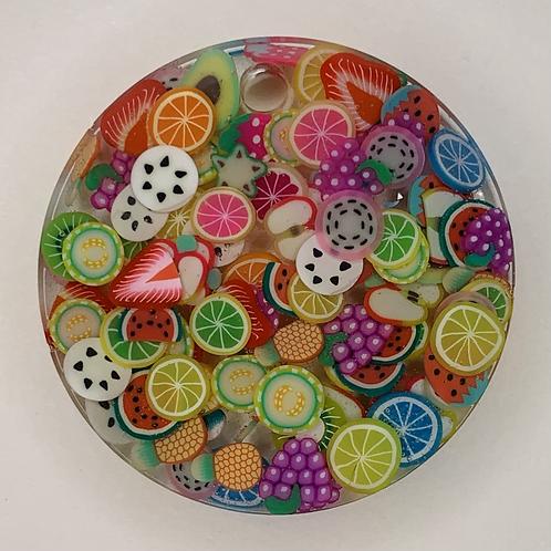 "Pre-Made 1.5"" Circle - Fruit"