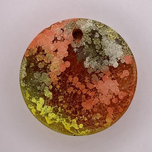 "Pre-Made 1"" Circle - Gold"