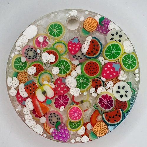 FRUITY Series Circle Tag  - Create Your Own