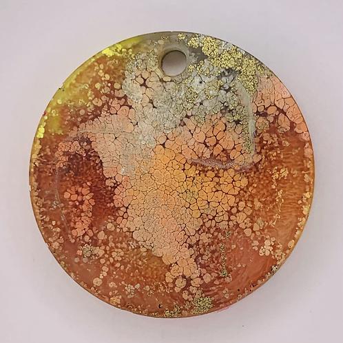 "Pre-Made 1.5"" Circle - Gold"