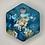 """Thumbnail: Pre-Made 1"""" Hexagon - Gold"""