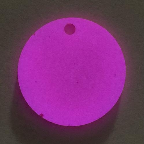 "Pre-Made 1.5"" GLOW Circle"