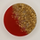 """Thumbnail: Pre-Made 1"""" Circle - Gold Flake"""