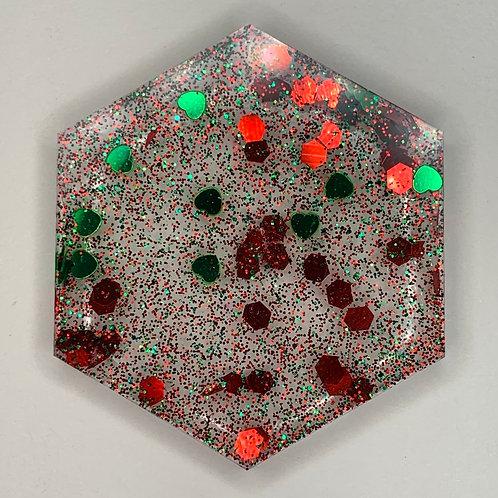 """Pre-Made 1.5"""" Hexagon-transparent"""