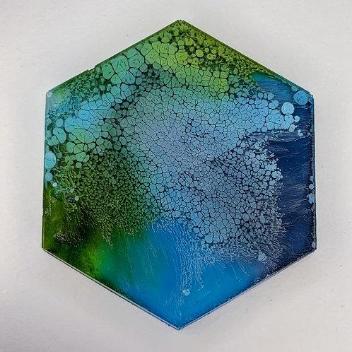 """Pre-Made 1.5"""" Hexagon 27"""