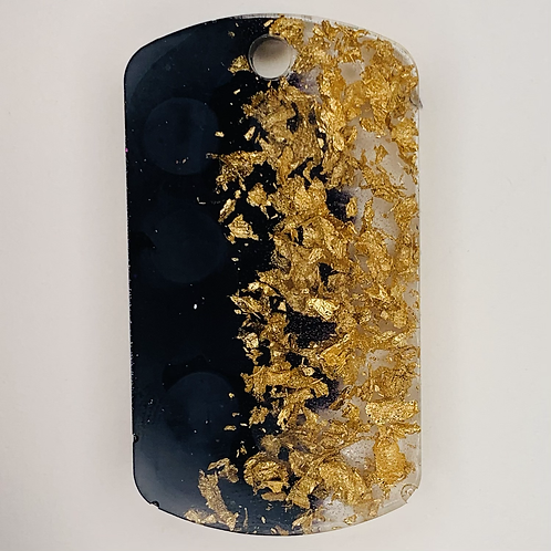 Pre-Made Military Style - Gold Flake