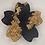"Thumbnail: Pre-Made 1.5"" Sakura Flower - Gold Flake"
