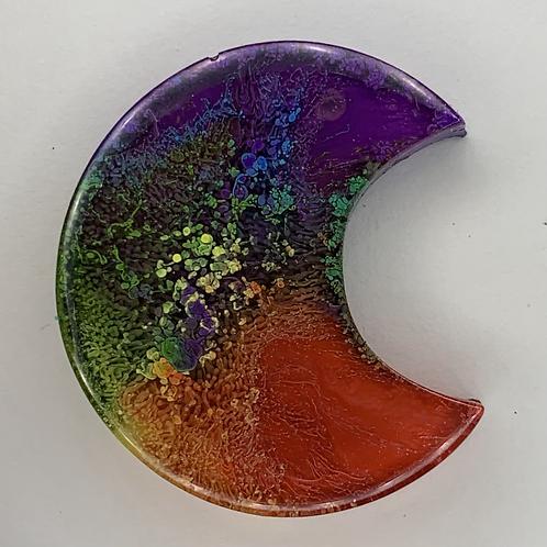 """Pre-Made Pride 1"""" Moon"""
