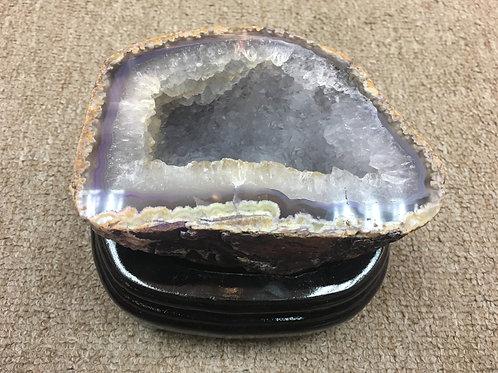 Agate Rock Ornament ( L ) 巴西瑪瑙聚寶盤 ( 已售 / Sold )