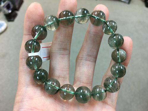 Green Phantom Quartz 綠幽靈 11-12mm ( A )
