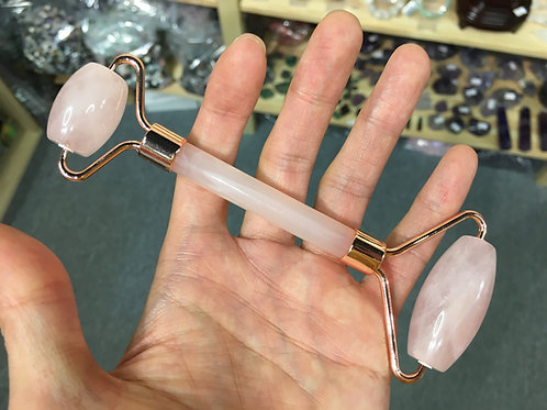 Rose Quartz Massage Roller Stick 粉晶按摩滾輪 ( 已售 / Sold )