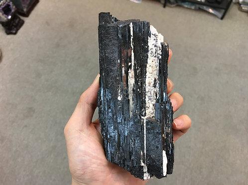 Black Tourmaline Pole 黑碧璽原石柱 ( L ) ( 已售 / Sold )