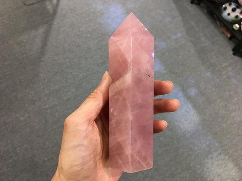 Rose Quartz Pole 粉晶柱 ( 1 )