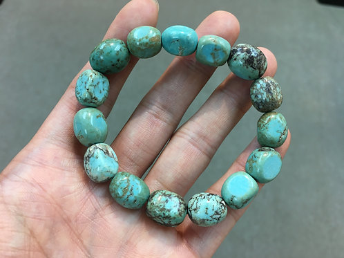 Green Turquoise in Irregular Shape 綠松石不定形 ( 已售 / Sold )
