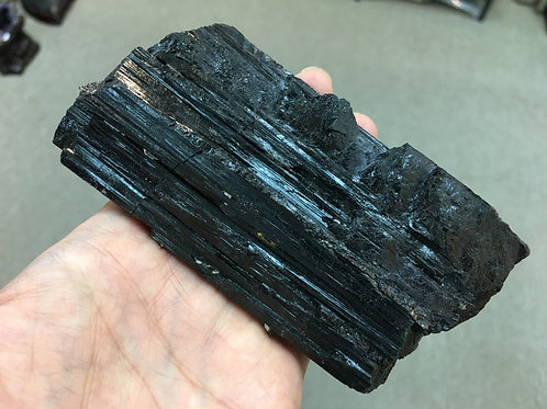 Black Tourmaline Pole 黑碧璽原石柱 ( 已售 / Sold )