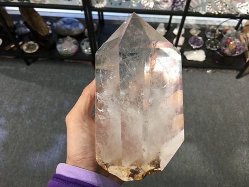 Rock Crystal Pole 白水晶柱 ( 4 )