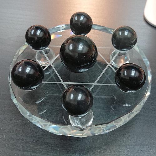 Obsidian Ornament 黑曜石 7 星陣 ( 已售 / Sold )
