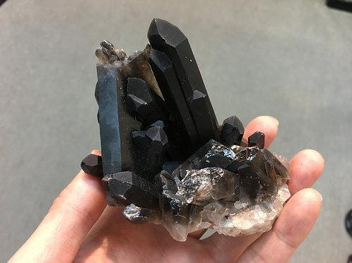 Black Quartz  ( Smoky Quartz ) Ornament 黑水晶 ( 煙水晶  ) 原石擺件 ( 2 )