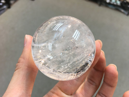 Rock Crystal Ball 白水晶球 50mm ( 已售 / Sold )
