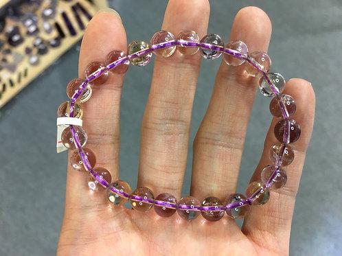 Ametrine 紫黃晶 7.5mm