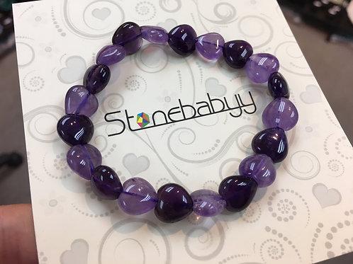 Amethyst Heart 紫水晶心形 10mm