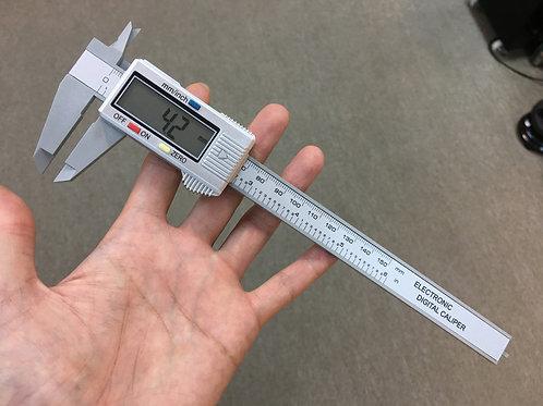 Plastic Electric Measure Ruler ( Black/Silver ) 塑膠版電子尺 ( 黑/銀 )